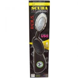 RADIUS, Scuba Toothbrush, Black, Soft, Right Hand, 1 Toothbrush