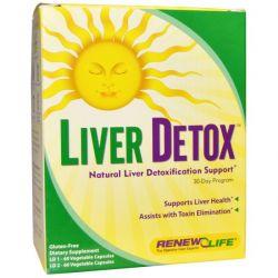 Renew Life, Liver Detox, 30 Day Program