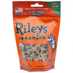 Riley's Organics, Dog Treats, Small Bone, Sweet Potato Recipe, 5 oz (142 g)