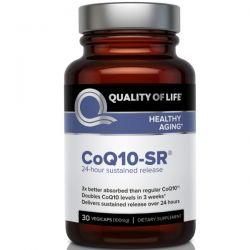 Quality of Life Labs, CoQ10-SR, 30 Vegicaps