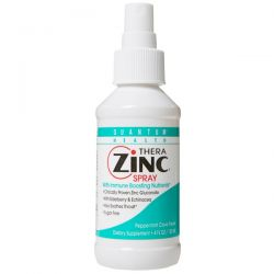 Quantum Health, Thera Zinc Spray with Immune Boosting Nutrients, Peppermint Clove Flavor, 4 fl oz (120 ml)