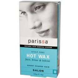 Parissa, Natural Hair Removal System, Hot Wax, 4 oz (120 g)