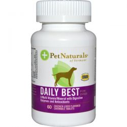 Pet Naturals Of Vermont Daily Best Complete Multivitamin For Dogs