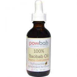POWBAB, 100% Baobab Oil, 2 fl oz (59 ml)