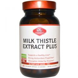 Olympian Labs Inc., Milk Thistle Extract Plus, 60 Veggie Caps