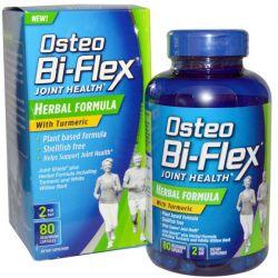 Osteo Bi-Flex, Joint Health, Herbal Formula with Turmeric, 80 Veggie Caps