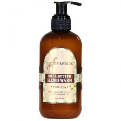 Out of Africa, Shea Butter Hand Wash, Vanilla, 8 oz (230 ml)