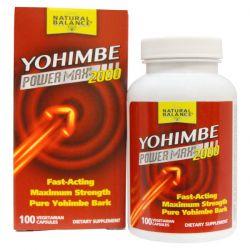 Natural Balance, Yohimbe Power Max 2000, 100 Veggie Caps
