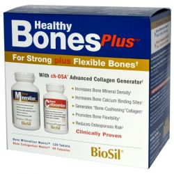 Natural Factors, BioSil, Healthy Bones Plus, Two-Part Program