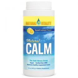 Natural Vitality, Natural Calm, Organic Sweet Lemon Flavor, 16 oz (453 g)