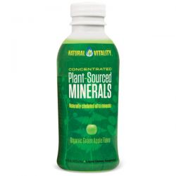 Natural Vitality, Plant-Sourced Minerals, Organic Green Apple Flavor, 16 fl oz (473 ml)
