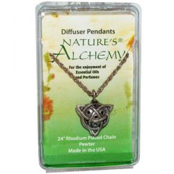 Nature's Alchemy, Celtic Necklace, Diffuser Pendant, 1 Pendant