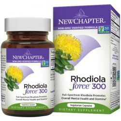 New Chapter, Rhodiola Force 300, 30 Veggie Caps