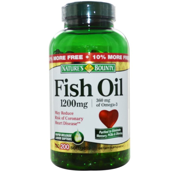 Nature 39 s bounty fish oil 1200 mg 200 softgels na for Nature s bounty fish oil 1200 mg