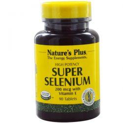 Nature's Plus, Super Selenium, 200 mcg, 90 Tablets