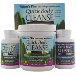 Nature's Plus, Quick Body Cleanse, 7 Day Program, 3 Part Program