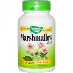Nature's Way, Marshmallow Root, 480 mg, 100 Capsules