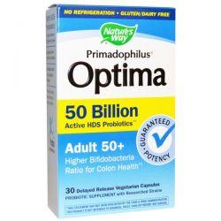Nature's Way, Primadophilus, Optima, Adult 50+, 30 Veggie Caps