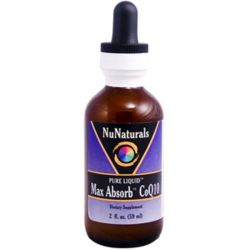 NuNaturals, Max Absorb CoQ10, 2 fl oz (59 ml)