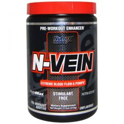 Nutrex Research Labs, N-Vein, Pre-Workout Enhancer, Unflavored, 11.2 oz (318 g)