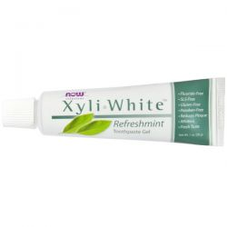 Now Foods, XyliWhite Toothpaste Gel, Refreshmint, 1 oz (28 g)