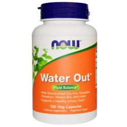 Now Foods, Water Out, Fluid Balance, 100 Veggie Caps