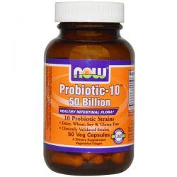Now Foods, Probiotic-10, 50 Billion, 50 Veggie Caps