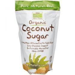 Now Foods, Real Food, Organic Coconut Sugar, 16 oz (454 g)
