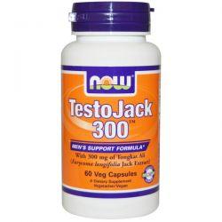 Now Foods, TestoJack 300, 60 Veggie Caps
