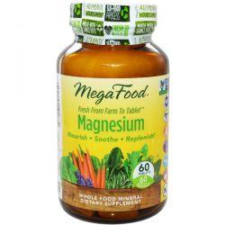MegaFood, Magnesium, 60 Tablets