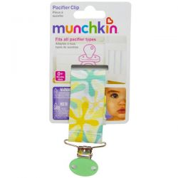 Munchkin, Pacifier Clip, 1 Clip