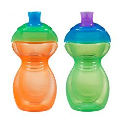 Munchkin, Sippy Cups, 9 + Months, 2 Cups, 9 oz (266 ml) Each