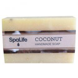 My Spa Life, Handmade Square Soap, Coconut, 100 g