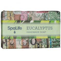 My Spa Life, Handmade Newspaper Soap, Eucalyptus, 100 g