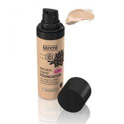 Lavera Naturkosmetic, Natural Liquid Foundation, Ivory Light 01, 1.0 fl oz (30 ml)