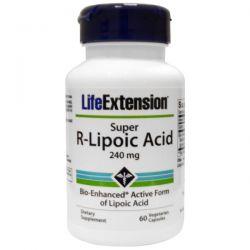 Life Extension, Super R-Lipoic Acid, 240 mg, 60 Veggie Caps