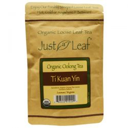 Just a Leaf Organic Tea, Oolong Tea, Ti Kuan Yin, 2 oz (56 g)