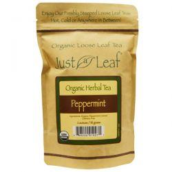 Just a Leaf Organic Tea, Peppermint, 2 oz (56 g)