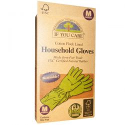 If You Care, Household Gloves, Medium, 1 Pair