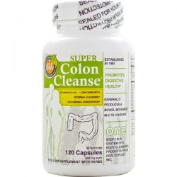 Health Plus Inc., Super Colon Cleanse, 500 mg, 120 Capsules