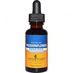 Herb Pharm, Passionflower, Flowering Herb, 1 fl oz (29.6 ml)