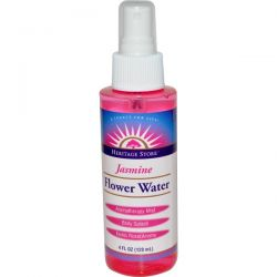 Heritage Products, Flower Water, Jasmine, 4 fl oz (120 ml)