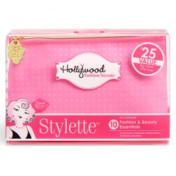 Hollywood Fashion Secrets, Stylette, Fashion & Beauty Essentials Kit, Pink, 1 Kit
