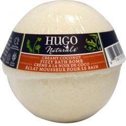 Hugo Naturals, Fizzy Bath Bomb, Creamy Coconut, 6 oz (170 g)