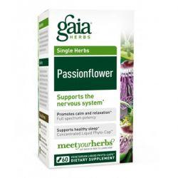 Gaia Herbs, Passionflower, 60 Veggie Liquid Phyto-Caps