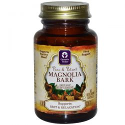 Genesis Today, Magnolia Bark, 60 Veggie Caps