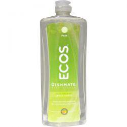 Earth Friendly Products, Dishmate, Dish Liquid, Pear, 25 fl oz (739 ml)