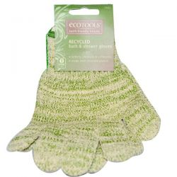 EcoTools, Recycled Bath & Shower Gloves, 1 Pair