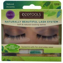 EcoTools, Naturally Beautiful Lash System, Natural Accents, 1 Lash Set