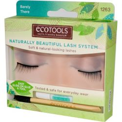 EcoTools, Naturally Beautiful Lash System, Barely There, 1 Pair of Lashes